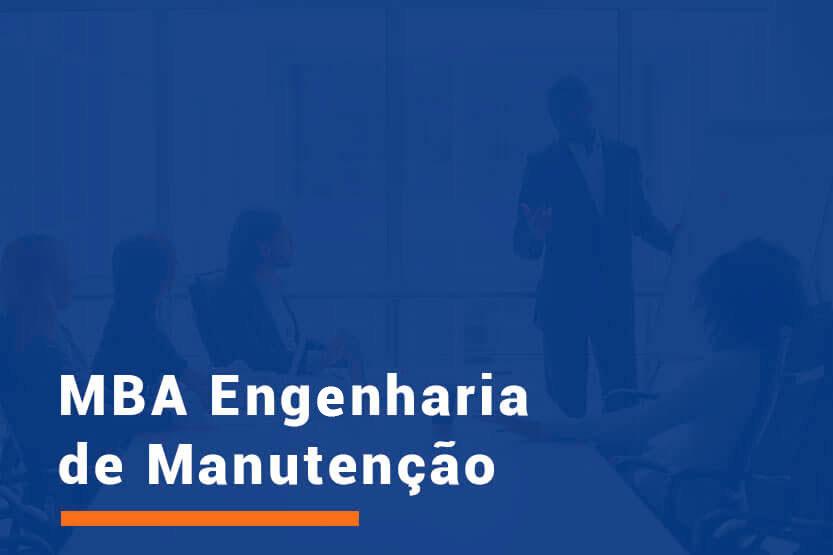 MBA Engenharia de Manutenção